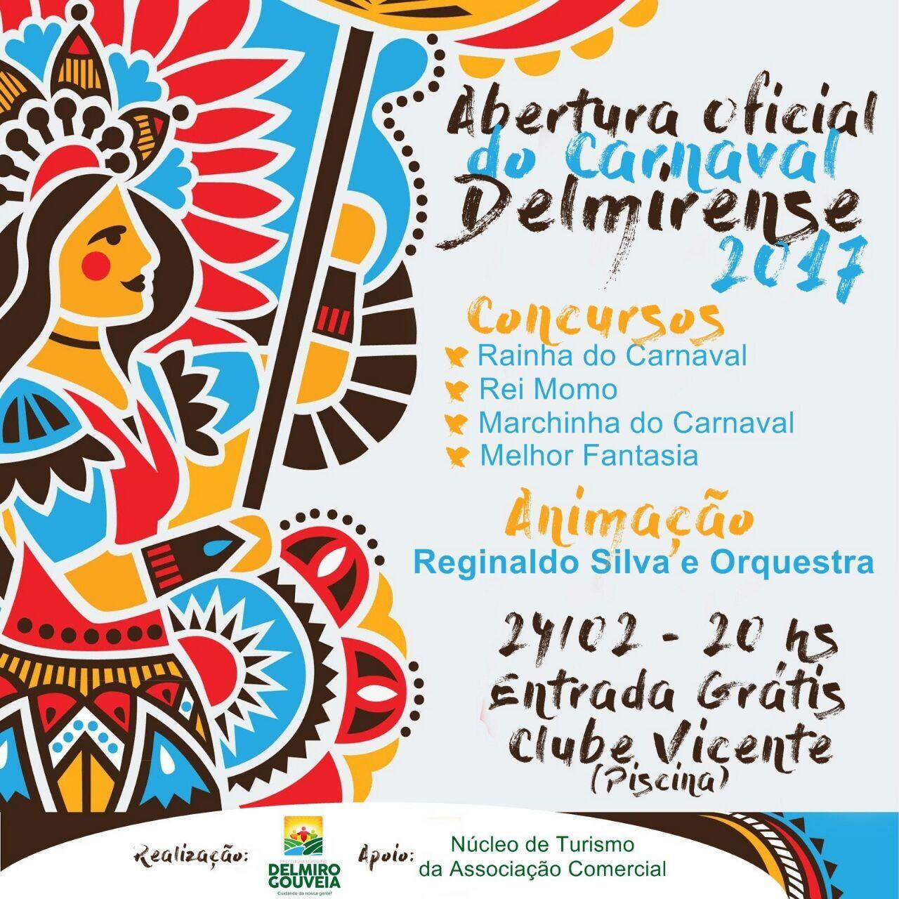 Abertura Oficial do Carnaval                 Clube Vicente  Piscina